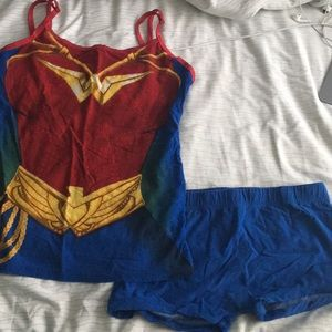 Wonder Woman PJs